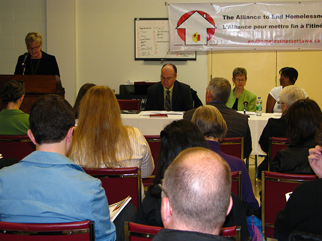 Alliance to end Homelessness Forum (2011)