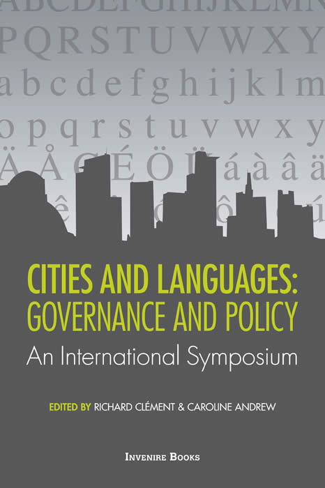 Cities and languages: Governance and policy: an international symposium