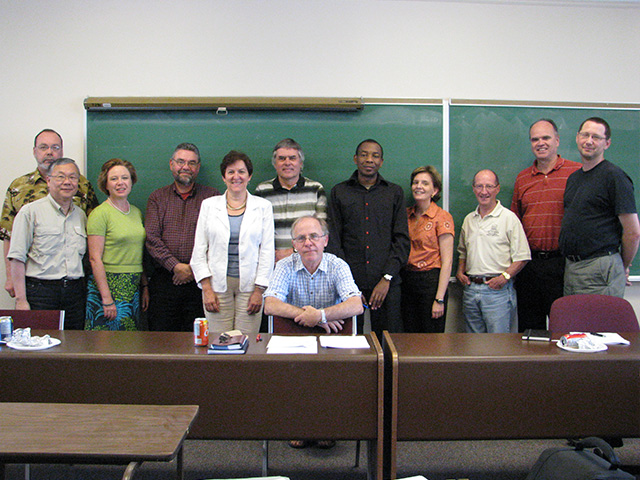CRECS Senior Researchers (2010)