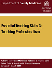 Essential teaching skills  3: Teaching professionalism